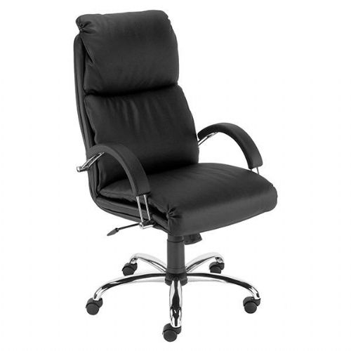 Nowy Styl Nadir Leather Heavy Duty Office Chair 23.5 Stone